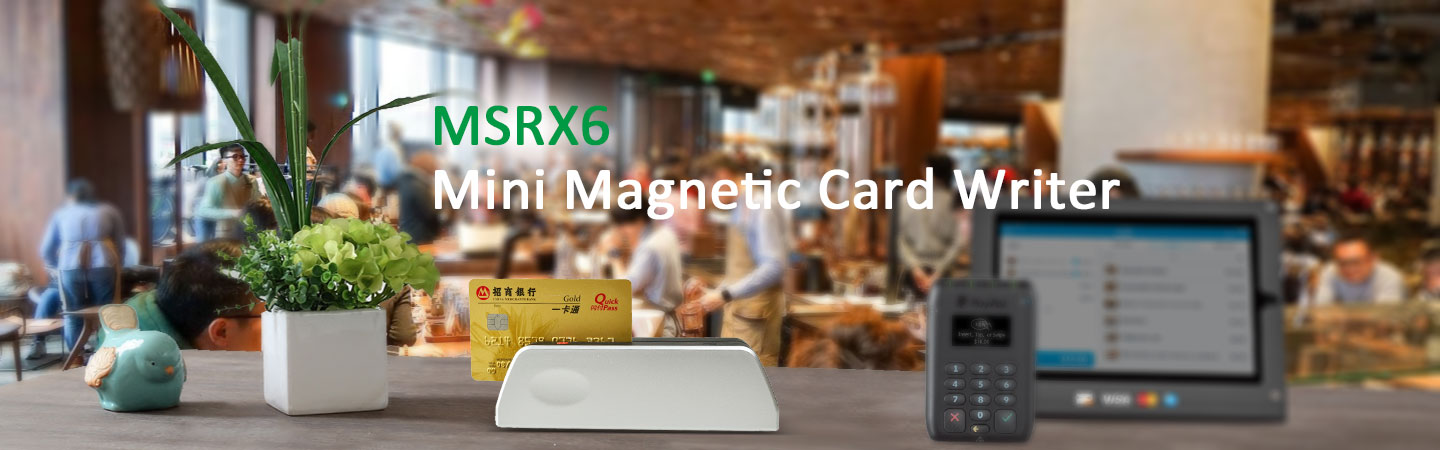 MSRX6 Smallest Magnetic Card Writer