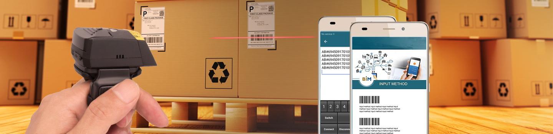 Wearable 2D Ring Barcode Scanner - Buy Finger Barcode Reader